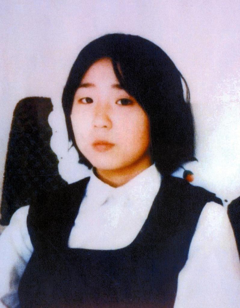昭和52年に北朝鮮に拉致された直後に撮影されたとみられる横田めぐみさん。母、早紀江さんは悲しげなまなざしを今も直視することができない