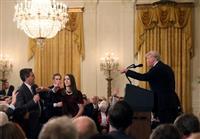 米CNNがトランプ氏提訴 「出入り禁止」は言論の自由侵害