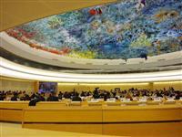 国連人権理事会 中国勧告300件以上 米欧が批判