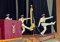 【動画】海保学校の「謎の儀式」 校旗入場に込められた誇り