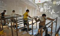 津波の脅威を知って 神戸の学習施設が体験コーナーやマップを新設