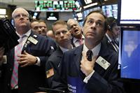 NY株続落、205ドル安 アップルの販売不振警戒