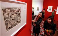【動画あり】「ミラクル エッシャー展」16日開幕 あべのハルカス美術館で
