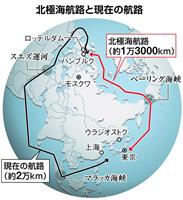 ロシアの聖域「北極海」に中国が触手 日露防衛協力に活路