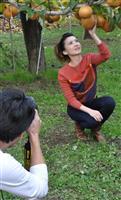 シンガポールトップ女優、群馬・高崎でプロモーション撮影