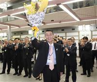 「新潟市活性化の土台できた」 篠田市長が退任