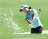 畑岡奈紗が1打差2位発進 米女子ゴルフ最終戦第1日