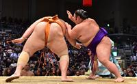 貴景勝6連勝、単独トップ 大相撲九州場所