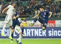 日本1-1で引き分け 森保体制、4連勝ならず
