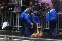 【パリの窓】抗議のおっぱい