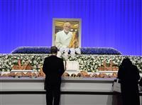 「フランスパンの神様」ビゴ氏お別れの会 パンに囲まれた祭壇で弟子や常連客ら追悼