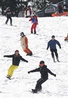 六甲山スノーパーク 関西最速オープン
