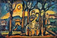 ルオー没後60年 「聖なる芸術」を探る 汐留ミュージアム