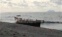 北海道・松前に相次ぎ漂着 北朝鮮船か、昨年窃盗事件