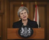 メイ英首相、経済界に離脱協定案支持訴え 「政治宣言」で有利な文言狙いも