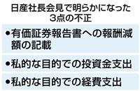 CEO兼務「不正の契機だった」 日産会見詳報(7)完