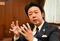 福岡市長選で3選・高島宗一郎氏、宿泊税「単独課税が望ましい」
