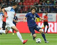 キルギス戦速報(4)日本、2-0で後半へ