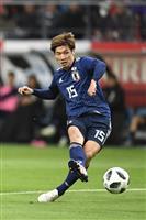 キルギス戦速報(6)日本が4-0に 大迫、中島が追加点