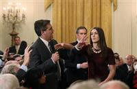 CNN記者の記者証停止処分を完全撤回 新ルール導入