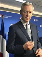 仏経済・財務相、ルノーの暫定経営陣の発足要求