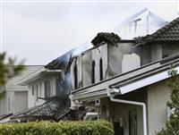 福岡市の住宅街で火災 近くに小学校
