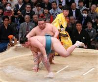 貴景勝、11勝目で首位キープ 1差は高安だけ 大相撲九州場所