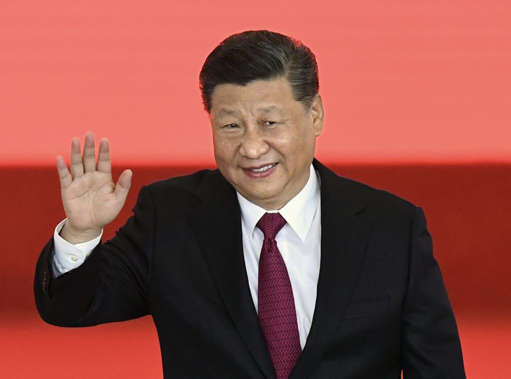 中国の習近平国家主席(共同)