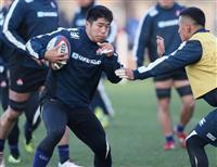 リーチ「いい準備できた」 ラグビー日本がロシア戦へ前日練習