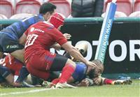日本、ロシアに逆転勝ち ラグビーのテストマッチ