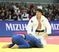原沢、小川が2回戦負け 柔道男子最重量級の苦難は続く