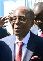 ムガベ氏の体調悪化か ジンバブエ前大統領