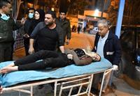 シリア北部でガス弾か、百人超被害と国営メディア