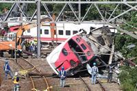 台湾脱線事故で事故調 速度超過が原因と断定