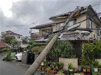 台風で学校の倉庫飛び民家被害、市が補償しない理由