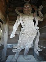 静岡県文化財に「木造金剛力士立像」