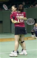 本選進出した今季引退のフジカキ「少しでも長くプレーを」 全日本総合バドミントン