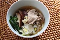 【料理と酒】体の芯から温まる 豚ロース肉のショウガ鍋