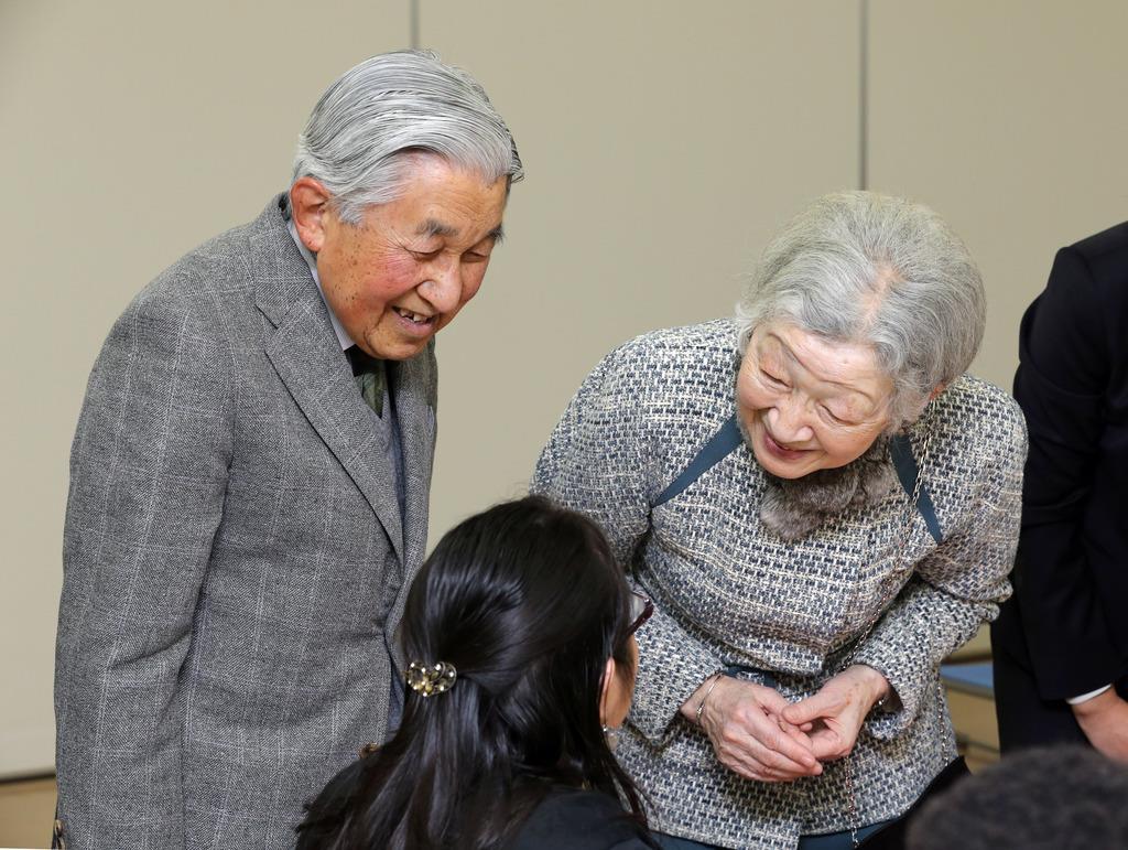両陛下、静岡の私的旅行からご帰...