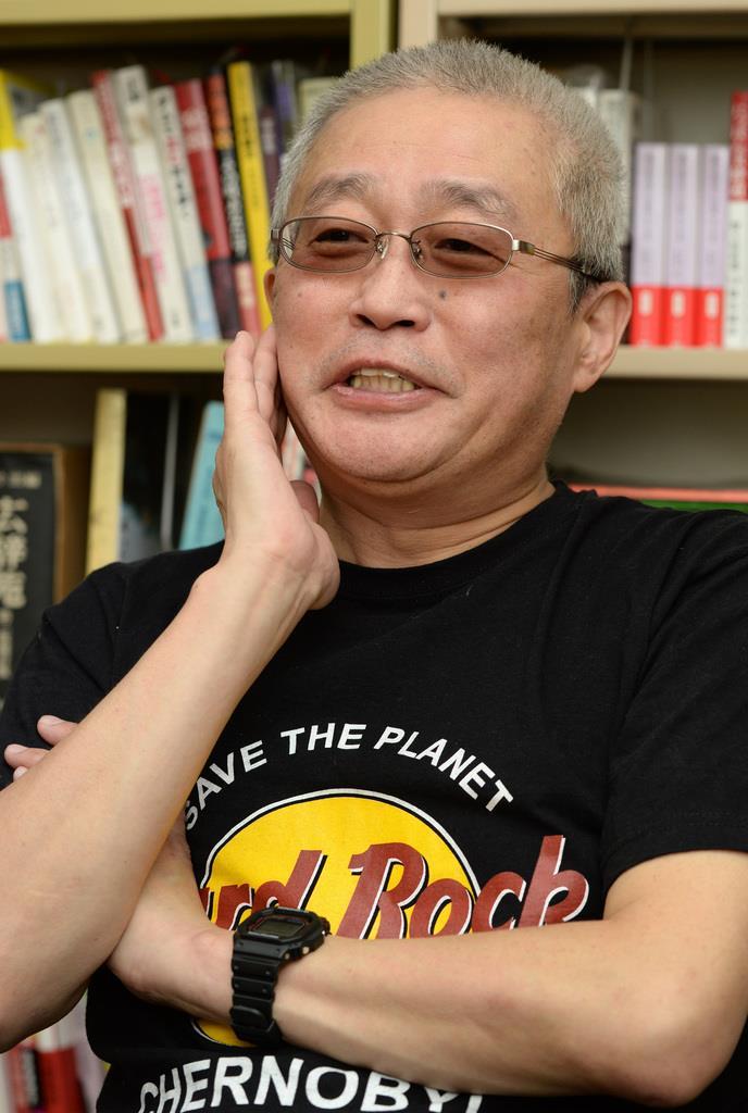 コラムニスト、勝谷誠彦氏