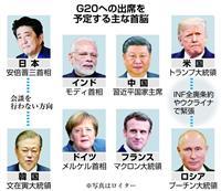 12月1日に米露首脳会談へ INF廃棄条約破棄を協議