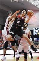 日本、カタールに85-47で快勝 バスケ男子W杯2次予選