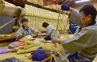 成田山で大しめ縄づくり 25日に大本堂前に飾り付け 千葉