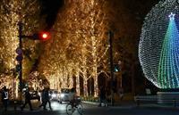 ロームが京都最大級イルミ、今年も点灯