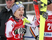 シュミットホファー初V アルペンW杯女子滑降第1戦