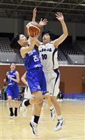 女子は東京羽田など勝つ 全日本バスケット2次ラウンド