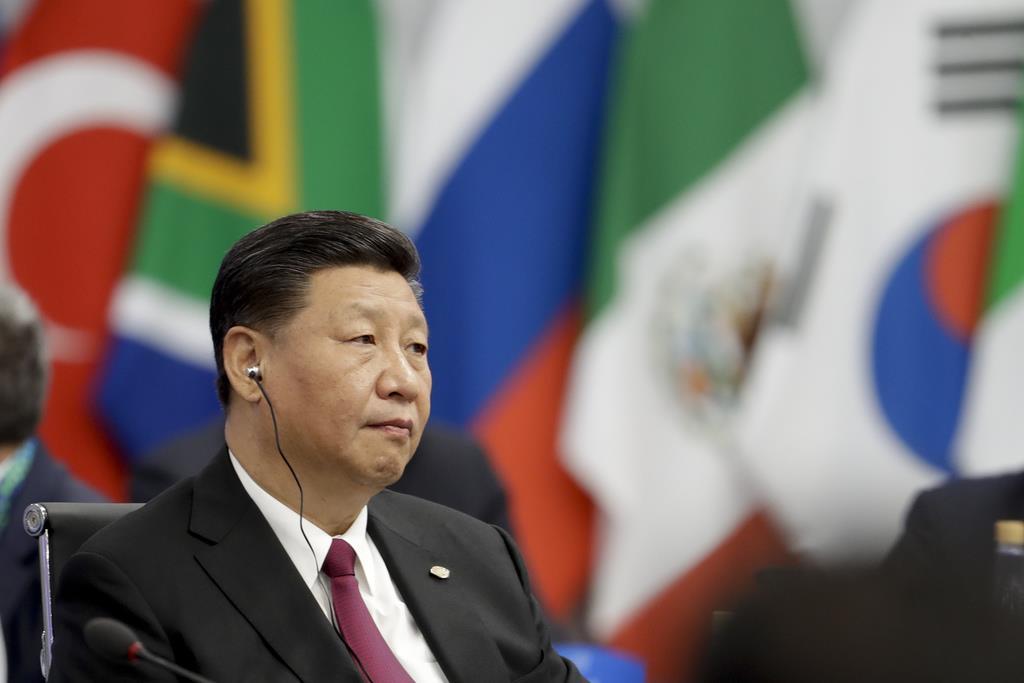 中国の習近平国家主席=11月30日、ブエノスアイレス(AP)
