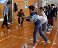 「英語村」で国際交流 足立の小学生、明海大訪問