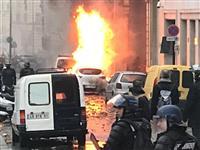 フランス抗議デモ 全国で630人を身柄拘束 政府は「各党対話」開始 「警備甘い」と批判…