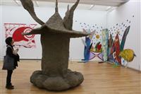 80年代の美術にフォーカス 高松市美術館30周年記念特別展 多様な表現楽しんで